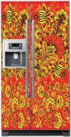 стикер на холодильник -  Хохлома 2