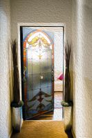 Наклейка  на дверь - Стеклянная дверь