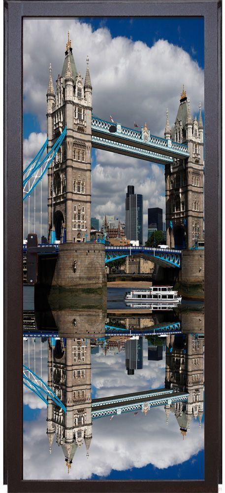 наклейка на дверь - Лондонский мост