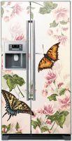 Наклейка на холодильник Floral-2