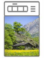 Наклейка на посудомоечную машину  - Дом в горах