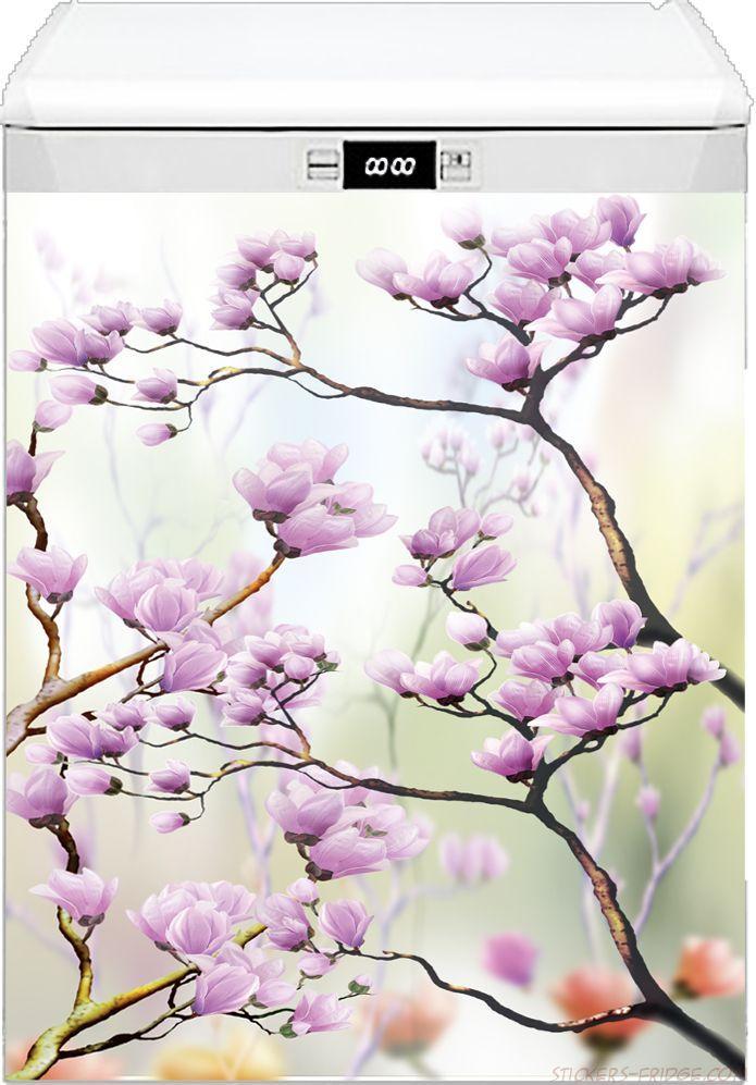 Наклейка на посудомоечную машину - Искусство цветения