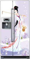 Наклейка на холодильник -   Муза сельхозугодий