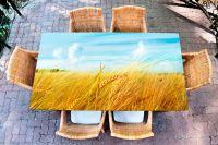 Наклейка на стол - Житница  | Купить фотопечать на стол в магазине Интерьерные наклейки