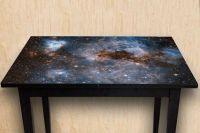 Наклейка на стол - Глубокий космос   Купить фотопечать на стол в магазине Интерьерные наклейки