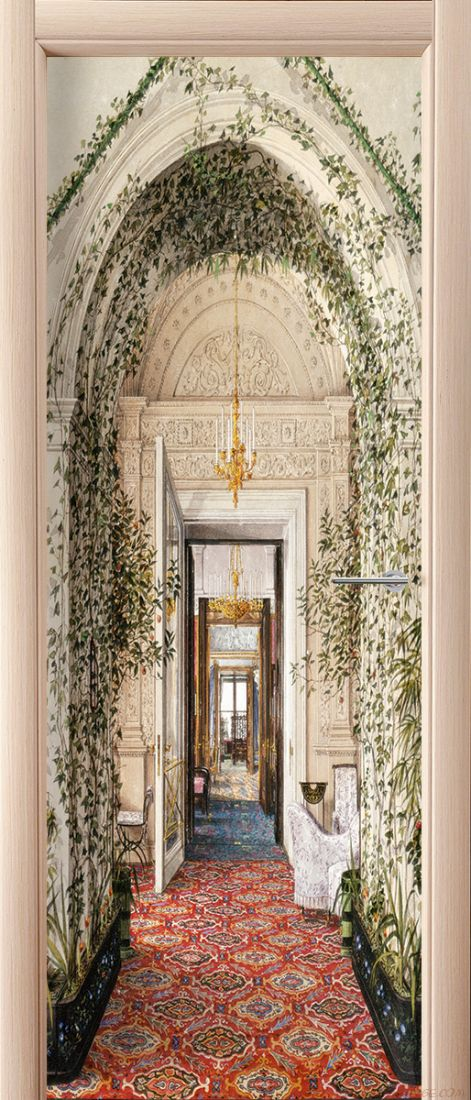 Фотообои на дверь - Шедевры Эрмитажа 3