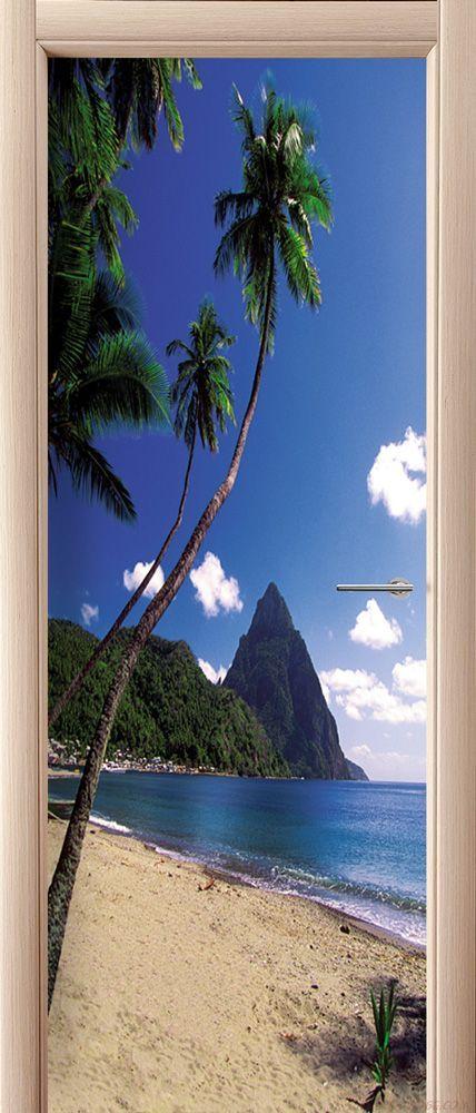 Фотообои на дверь - Море