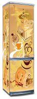 Виниловая наклейка на холодильник -  Кофе 1. Арабика