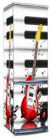 Виниловая наклейка на холодильник -  Музыкальные инструменты