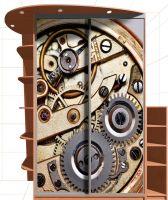 Наклейка на шкаф - Механика времени