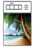 Наклейка на посудомоечную машину - Пляж 3