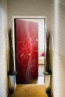 Декоративная наклейка на дверь - Глинтвейн