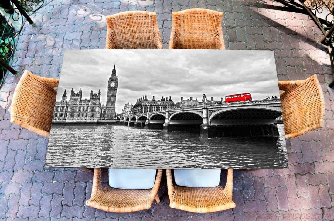 Наклейка на стол - Темза